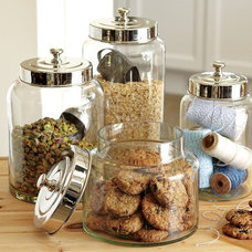 Kitchen Canisters And Jars Glass Canisters | Williams-Sonoma