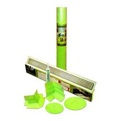 "Trugard Tru-Line - Trugard Shower Kit, 34"", 42 x 42 Shower, 220 Sqft, Classic Grate Style - Trugard Complete Shower Waterproofing Kit - Fits Standard 3 sided  72"" x 72"" x 7'h Shower"