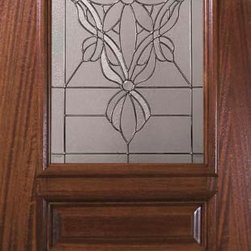 "Slab Entry Single Door 96 Mahogany Evangeline 3 Panel Arch Lite Glass - SKU#    P19692Brand    GlassCraftDoor Type    ExteriorManufacturer Collection    Arch Lite Entry DoorsDoor Model    EvangelineDoor Material    WoodWoodgrain    MahoganyVeneer    Price    1815Door Size Options    36"" x 96"" (3'-0"" x 8'-0"")  $0Core Type    Door Style    Square TopDoor Lite Style    Arch LiteDoor Panel Style    3 PanelHome Style Matching    Door Construction    PortobelloPrehanging Options    SlabPrehung Configuration    Single DoorDoor Thickness (Inches)    1.75Glass Thickness (Inches)    Glass Type    Triple GlazedGlass Caming    Satin NickelGlass Features    Tempered , BeveledGlass Style    Glass Texture    Glass Obscurity    Door Features    Door Approvals    Wind-load Rated , FSC , TCEQ , AMD , NFRC-IG , IRC , NFRC-Safety GlassDoor Finishes    Door Accessories    Weight (lbs)    295.2Crating Size    25"" (w)x 108"" (l)x 52"" (h)Lead Time    Slab Doors: 7 daysPrehung:14 daysPrefinished, PreHung:21 daysWarranty    One (1) year limited warranty for all unfinished wood doorsOne (1) year limited warranty for all factory?finished wood doors"