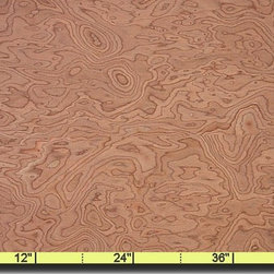 Oakwood Veneer - Italian Carpathian Elm Burl - Burls are some of the most expensive veneer available. If you are looking for a look for less than the Italian Carpathian Elm is a great choice.