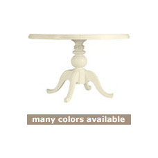 Coastal Living Cottage Pedestal Dining Table with Round Top