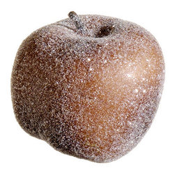 Silk Plants Direct - Silk Plants Direct Frosted Apple Ornament (Pack of 12) - Brown - Pack of 12. Silk Plants Direct specializes in manufacturing, design and supply of the most life-like, premium quality artificial plants, trees, flowers, arrangements, topiaries and containers for home, office and commercial use. Our Frosted Apple Ornament includes the following: