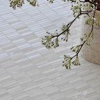 Random Blend Stalks Stone Mosaic - 1.5 cm x 6 cm Random Blend Stalks