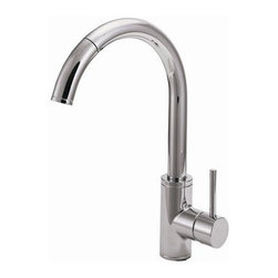 World Imports - World Imports SC403SS Schon Stainless Steel Faucet - World Imports SC403SS Schon Stainless Steel Kitchen Faucet