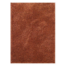 Loloi Rugs - Loloi Rugs Dion Rust Shag Rug X-696700UR10-SDNOID - The Dion Shag Collection is hand made, composed of 100% polyester and features an exciting texture. Longer strands and short twists of complementary colors makes the Dion a compelling new shag variant.