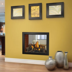 Napoleon - Napoleon 39 in. See-Thru Gas Fireplace Multicolor - HD81NT - Shop for Fire Places Wood Stoves and Hardware from Hayneedle.com! The Napoleon HD81NT 39 in. See-Thru Gas Fireplace offers multiple viewing angles and features the Napoleon exclusive Night Light which radiates a warm glow even when the fireplace is off. This unit's split burner system produces Yellow Dancing Flames sure to be the focal point of not one but two rooms and emits a generous heating range from 22 000-60 000 BTUs!A licensed contractor should be contacted for installation of all products involving gas lines. We recommend you use a professional installer to ensure the safety of the exhaust system.About NapoleonNapoleon got its start in 1976 as a steel fabrication business launched by Wolfgang Schroeter in Barrie Ontario Canada. His original stove was a solid cast iron two-door design that was produced in a 100 sq. ft. manufacturing facility. By 1981 the name Napoleon was born along with the first single glass door with Pyroceram high temperature ceramic glass in the industry. This glass door was the first of many milestones for the company and the demand for Napoleon's wood stoves grew over the next few years beyond Ontario's borders to the rest of Canada and into the United States. Over the years Napoleon has led the way with innovative engineering and design. They are now North America s largest privately owned manufacturer of quality wood and gas fireplaces gourmet gas and charcoal grills outdoor living products and heating and cooling products. Napolean is committed to producing high quality products with honest reliable service. This approach has proven to be a successful framework to ensuring the continued rapid growth of the company.