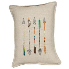 Contemporary Pillows by Coral & Tusk