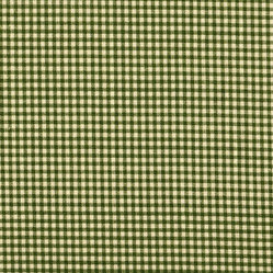 "24"" Tailored Tiers Gingham Check Sage Green"