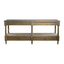 Curations Limited - Large English Console Table -