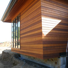 Contemporary Exterior by Buckingham Resources LTD