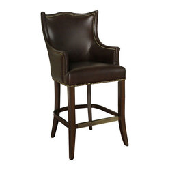 American Heritage Montoya 30 Inch Bar Stool in Brown