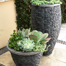 Contemporary Outdoor Pots And Planters by Horchow