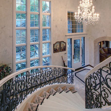Traditional Staircase by Better Builders