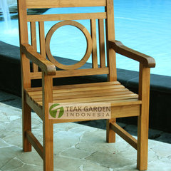 eclectic dining chairs and benches by Teak Patio Outdoor Indonesia