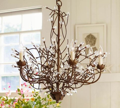 Eclectic Chandeliers by Pottery Barn