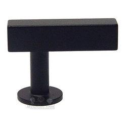 Lews Hardware Bar Pull Collection - Bar Knob in Matte Black -