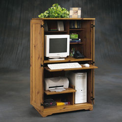 Sauder - Sugar Creek Armoire - Durability, utility and fine furniture detail shape every piece ...