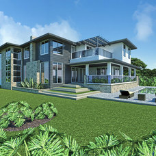 Contemporary Rendering by design styles architecture