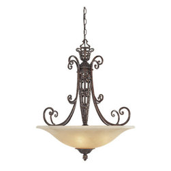 Designers Fountain - Designers Fountain 97531 Three Light Down Lighting Bowl Pendant Amherst - Features: