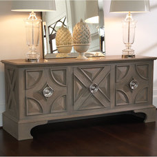 eclectic buffets and sideboards by BELLA VICI & haute + box