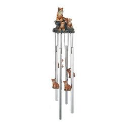 GSC - Wind Chime Round Top Bengal Tiger Hanging Garden Decoration Windchime - This gorgeous Wind Chime Round Top Bengal Tiger Hanging Garden Decoration Windchime has the finest details and highest quality you will find anywhere! Wind Chime Round Top Bengal Tiger Hanging Garden Decoration Windchime is truly remarkable.