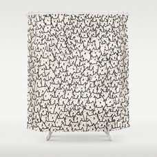 Eclectic Shower Curtains by Society6