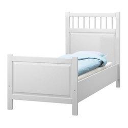 Filippa Eneroth - HEMNES Bed frame - Bed frame, white