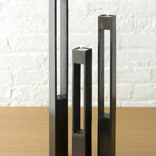 modern candles and candle holders by Design Public