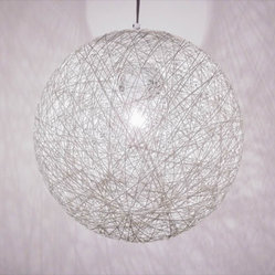 White Chaos Pendant Light - Small