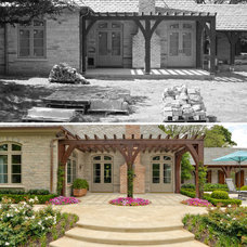 Traditional  by Harold Leidner Landscape Architects