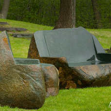 Eclectic Garden Statues And Yard Art by Daryl Toby - AguaFina Gardens International