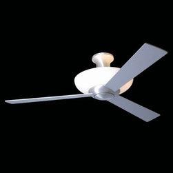 Aurora Hugger Ceiling Fan with Light by Modern Fan Company -