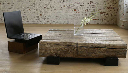 eclectic coffee tables by andrejoyau.com