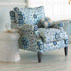 eclectic armchairs by RSH