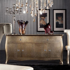 Contemporary Entertainment Centers And Tv Stands by Adarn