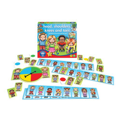 The Original Toy Company - The Original Toy Company Kids Children Play Head, Shoulders, Knees and Toes - Head, Shoulders, Knees and toes, and eyes and ears and mouth and nose! Have fun learning about parts of the body with this action lotto guessing game. Ages 3 years plus. 2-4 players. Made in England.