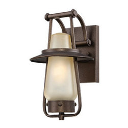 "Designers Fountain - Designers Fountain ES32021 Stonyridge 1 Light 7"" Energy Star CFL Wall Sconce - B - Features:"