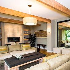 Modern Living Room by Sarah Dippold Design