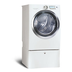 8.0 Cu. Ft. Gas Front Load Dryer with Wave-Touch® Controls by Electrolux - Perfect Steam