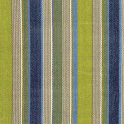 Marina Stripe Indoor/Outdoor Rug - I have long admired Dash and Albert rugs for their pattern and colors. These jaunty, striped indoor/outdoor rugs would add personality to a front porch or portico. Perfect for high traffic areas, they are scrub-able and hose-able!