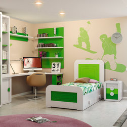 Macral Design. Kids and young bedroom - Composition Nº 7