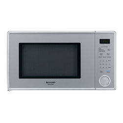"Sharp - 1.1 Cu.Ft 1000W Touch Microwave, 11.25"" Turntable - Features:"