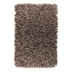 Surya - Surya Plush Longfellow Winter White-Stone 8'x10' Rectangle Area Rug - The Longfellow area rug Collection offers an affordable assortment of Plush stylings. Longfellow features a blend of natural Beige-Ivory color. Handmade of 100% New Zealand Felted Wool the Longfellow Collection is an intriguing compliment to any decor.