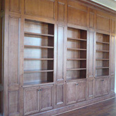 Traditional Bookcases by blankenships cabinets