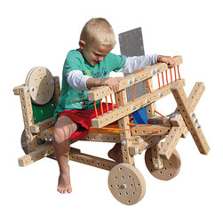 OOTS! - Woodmobiel Standard Kit - Imagine. Create. Play. The possibilities are endless with this DIY wooden building set. Kids love using real tools to construct life-size toys. And you'll love seeing what your child's imagination and hard work can accomplish!