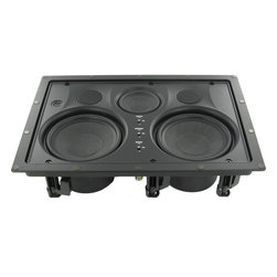 InwallTech - InwallTech High Definition Theater Kit with Front Wall, Center and Rear Ceiling - The Kevlar® in the woofers (for low frequencies), is a high-end speaker material that is very lightweight and resists flexing under stress. This means that you get smooth steady low frequencies without distortion at even higher sound pressure levels.
