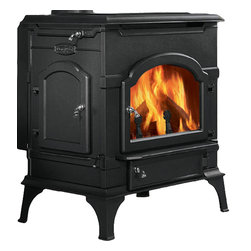 Majestic Products - Monessen 2461 DutchWest Catalytic Wood Burning Stove - Monessen 0002462--DutchWest Catalytic Stove - Classic Black - Extra Large Convection