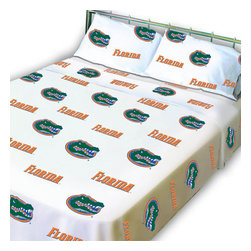College Covers - NCAA Florida Gators Collegiate Twin X-Long Bed Sheet Set - Features: