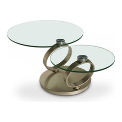 Products MODERN GLASS SWIVEL COFFEE TABLE Design Ideas, Pictures ...
