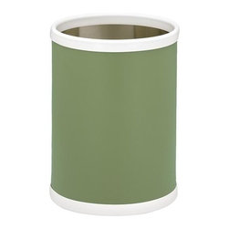 Kraftware - Bartenders Choice Fun Colors 10 in. Wastebasket in Mist Green - Made in USA. 10 in. Dia. x 12 in. H (1.5 lbs.)Our fun colors collection features the hottest colors for the season, to provide you with great entertaining items, with up to the minute styling. Great for indoor and outdoor entertaining.